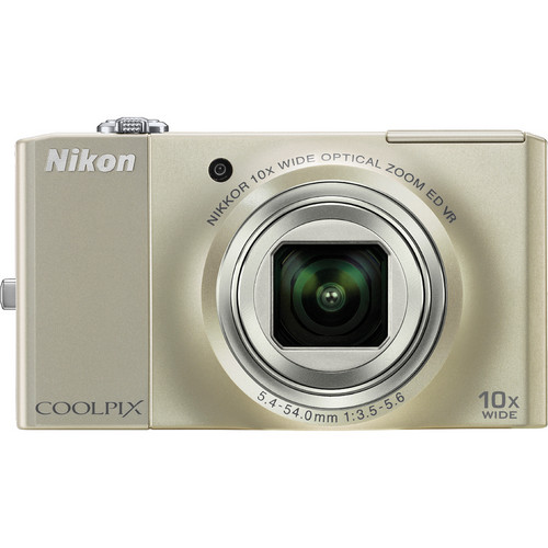 Nikon CoolPix S8000 Digital Camera (Silver)