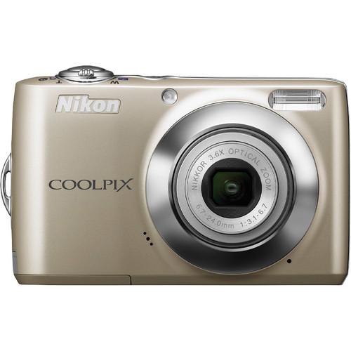 Nikon Coolpix L22 Digital Camera (Silver)
