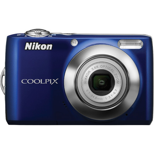Nikon Coolpix L22 Digital Camera (Blue)