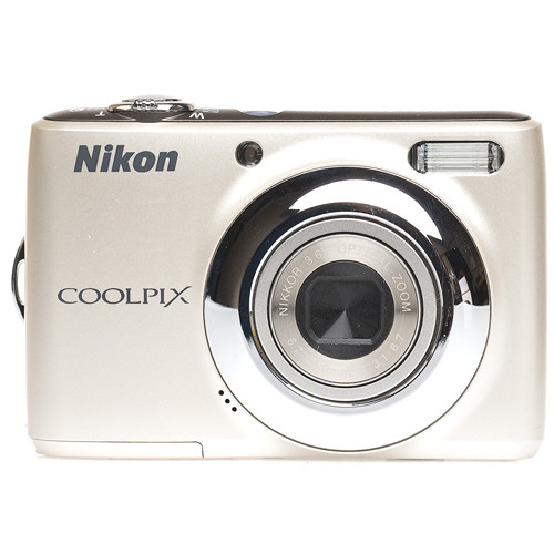 Nikon Coolpix L21 Digital Camera (Silver)