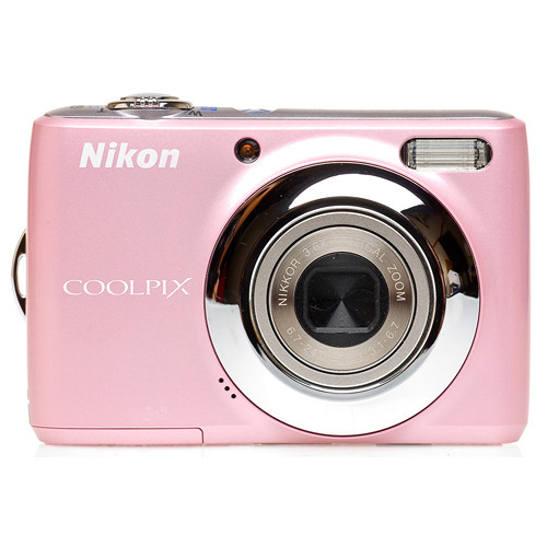 Nikon Coolpix L21 Digital Camera (Pink)