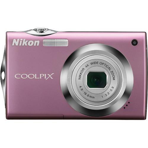 Nikon Coolpix S4000 Digital Camera (Pink)