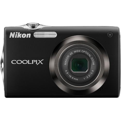 Nikon CoolPix S3000 Digital Camera (Black)