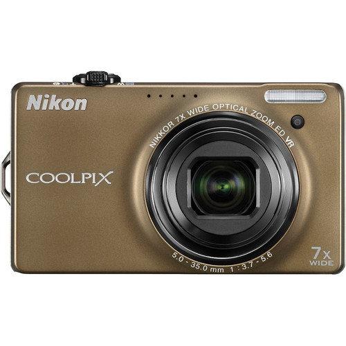 Nikon CoolPix S6000 Digital Camera (Bronze)