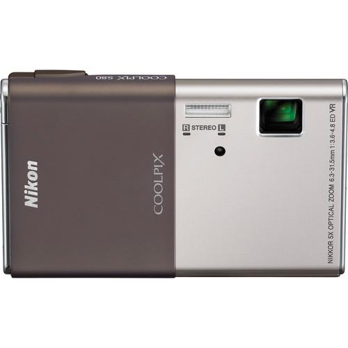 Nikon CoolPix S80 Digital Camera (Silver)