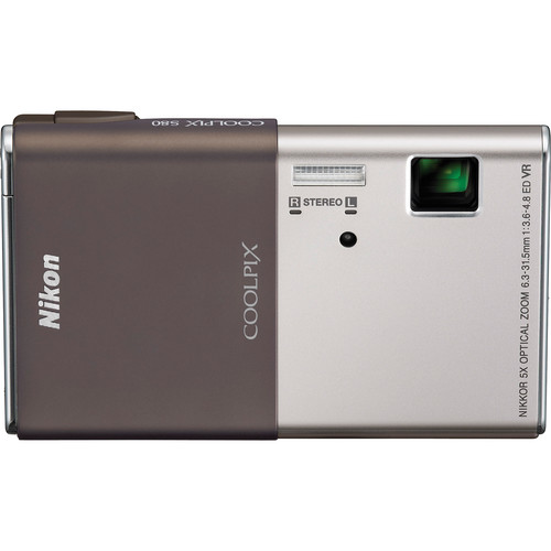 Nikon CoolPix S80 Digital Camera (Silver)