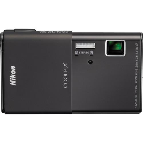 Nikon CoolPix S80 Digital Camera (Black)