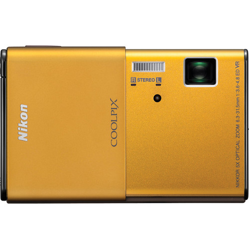 Nikon CoolPix S80 Digital Camera (Gold)