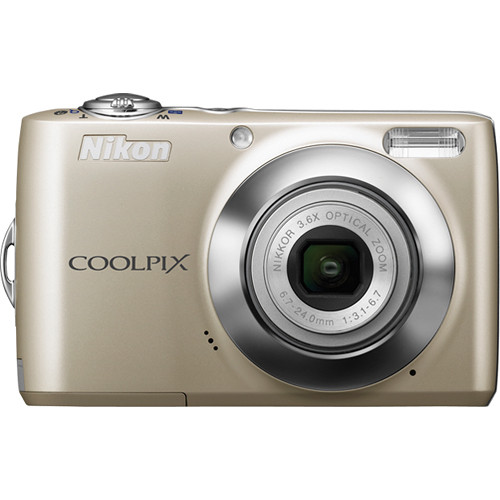 Nikon Coolpix L24 Digital Camera (Silver)