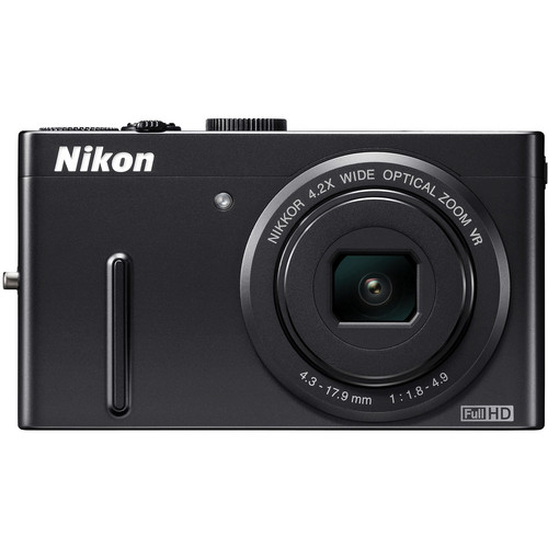 Nikon Coolpix P300 Digital Camera (Black)