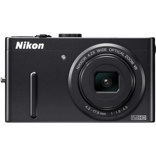 Nikon Coolpix P300 Digital Camera (Black)