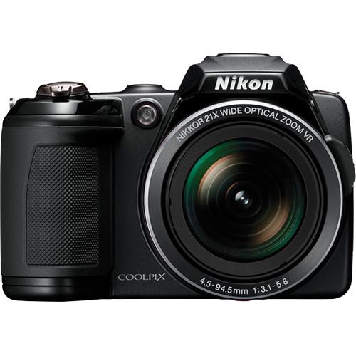 Nikon Coolpix L120 Digital Camera (Black)