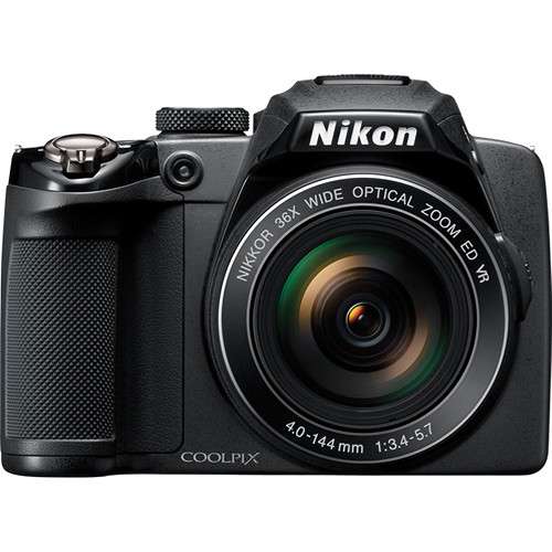 Nikon Coolpix P500 Digital Camera (Black)
