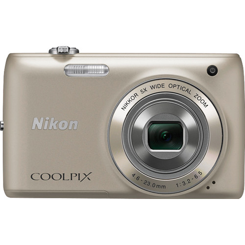 Nikon Coolpix S4100 Digital Camera (Silver)