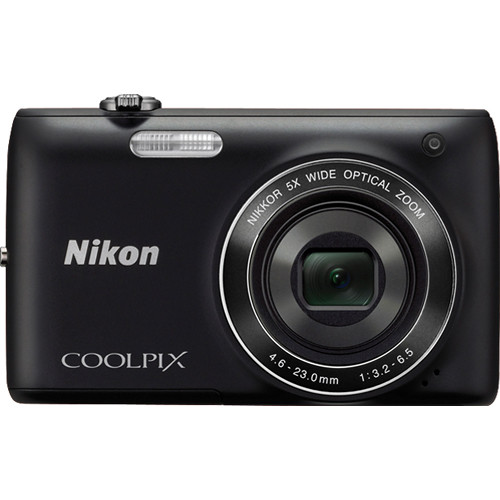 Nikon Coolpix S4100 Digital Camera (Black)