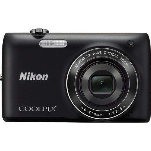 Nikon Coolpix S4100 Digital Camera (Black)