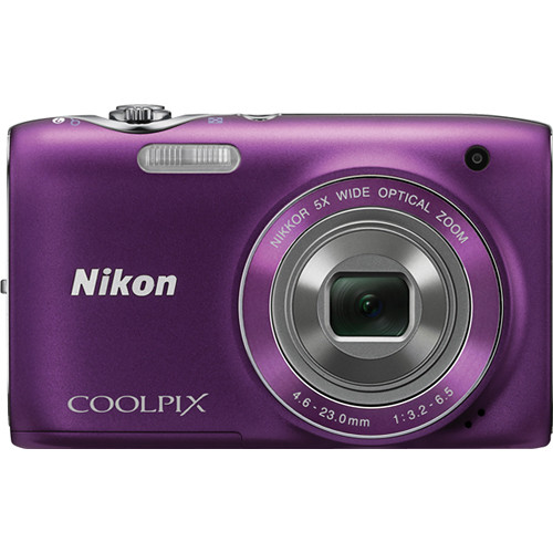 Nikon Coolpix S3100 Digital Camera (Purple)