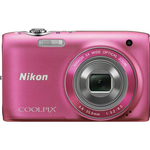Nikon Coolpix S3100 Digital Camera (Pink)