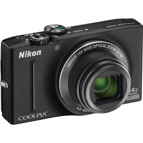Nikon COOLPIX S8200 Digital Camera (Black)