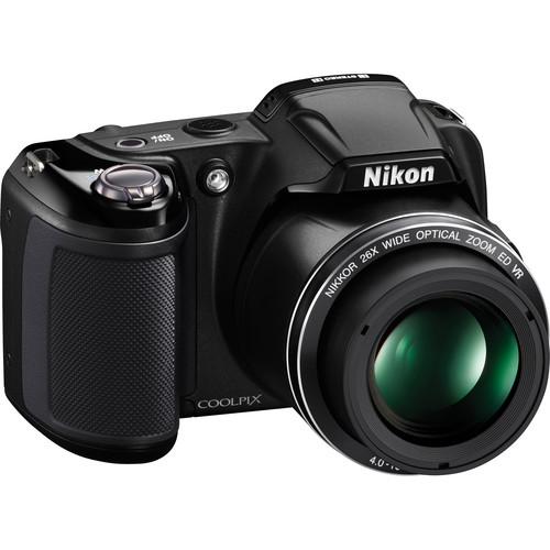 Nikon Coolpix L810 Digital Camera (Black)