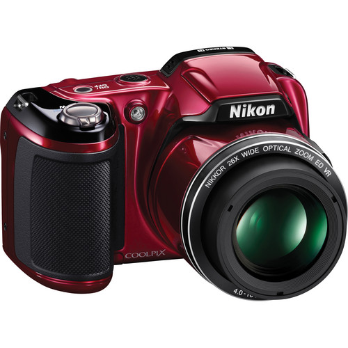 Nikon Coolpix L810 Digital Camera (Red)