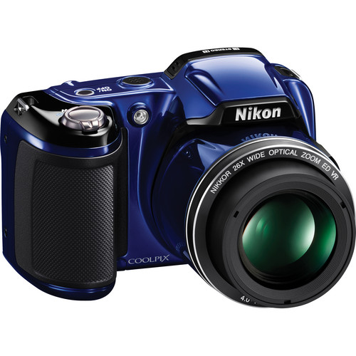 Nikon Coolpix L810 Digital Camera (Blue)