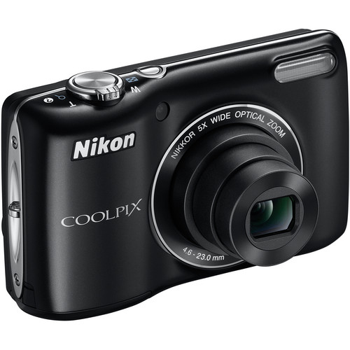 Nikon Coolpix L26 Digital Camera (Black)