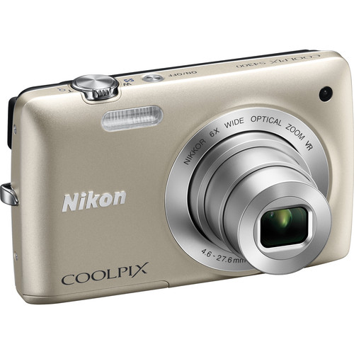 Nikon Coolpix S4300 Digital Camera (Silver)