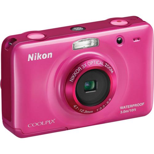 Nikon Coolpix S30 Digital Camera (Pink)