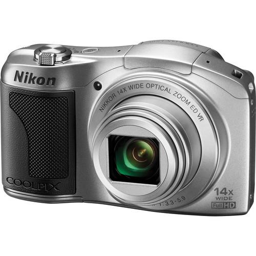 Nikon COOLPIX L610 Digital Camera (Silver)