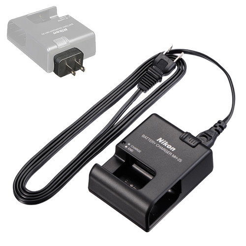 Nikon MH-25 Quick Charger for EN-EL15 Battery
