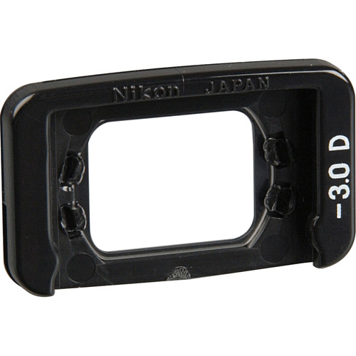Nikon DK-20C Correction Eyepiece for Rectangular-Style Viewfinder (-3.0)
