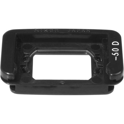 Nikon DK-20C Correction Eyepiece for Rectangular-Style Viewfinder (-5.0)