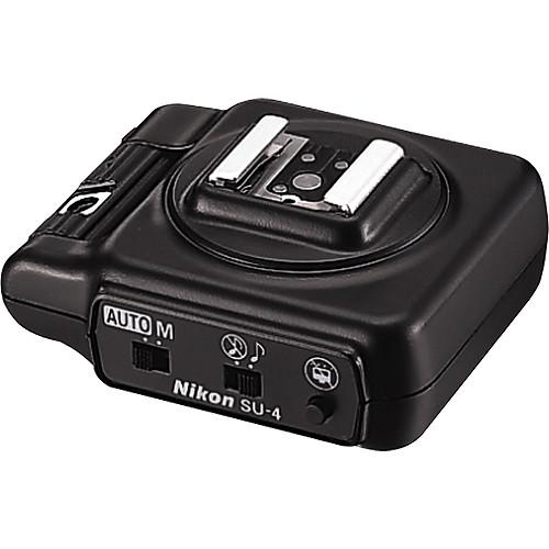 Nikon SU-4 Wireless Remote Slave TTL Flash Controller (with SG-2 Diffuser)