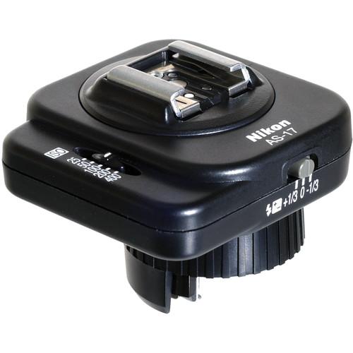 Nikon AS-17 Flash Coupler - Standard ISO/TTL Flash Shoe to Nikon F3 Camera