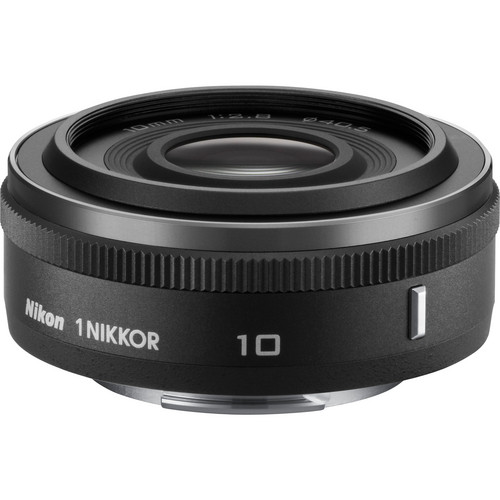 Nikon 1 NIKKOR 10mm f/2.8 Lens (Black)