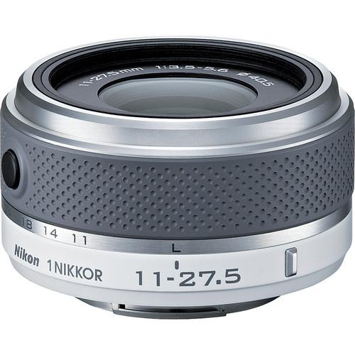 Nikon 1 NIKKOR 11-27.5mm f/3.5-5.6 Lens (White)