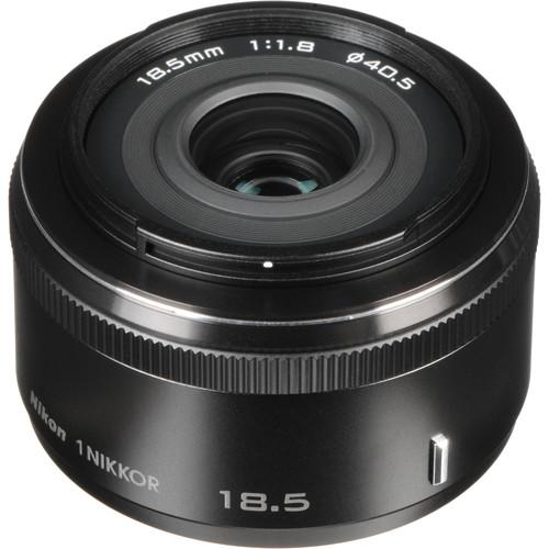 Nikon 1 NIKKOR 18.5mm f/1.8 Lens (Black)