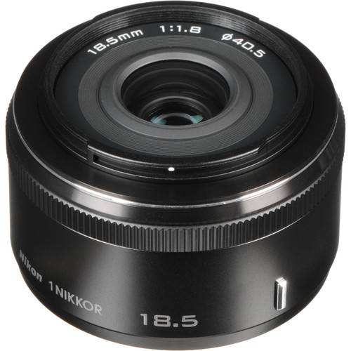 Nikon 1 NIKKOR 18.5mm f/1.8 Lens (Black)