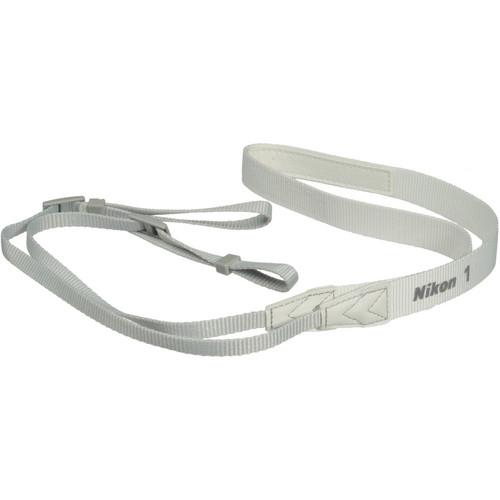 Nikon AN-N1000 Neck Strap for Nikon 1 Series Digital Camera (White)