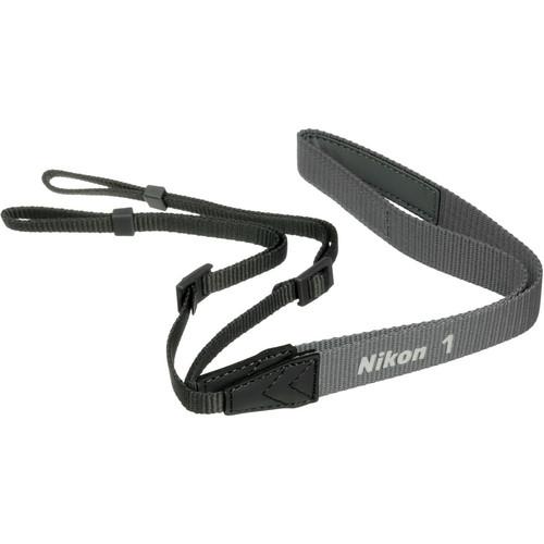 Nikon AN-N1000 Neck Strap for Nikon 1 Series Digital Camera (Silver)