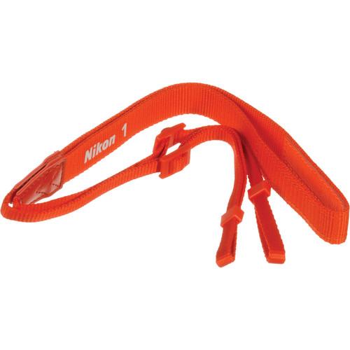 Nikon AN-N1000 Neck Strap for Nikon 1 Series Digital Camera (Orange)