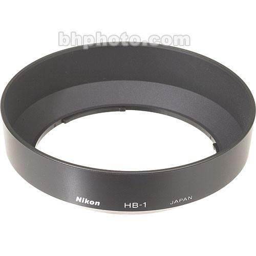 Nikon HB-1 Lens Hood (Bayonet) for 28-85mm f/3.5-4.5 AF, 35-70mm f/2.8 D-AF & 35-135mm f/3.5-4.5 AF Lenses