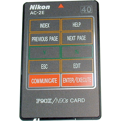 Nikon AC-2E Datalink Card for Use with N90s/F90x Cameras (not for N90)