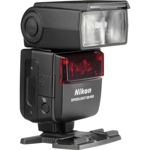 Nikon SB-600 AF Speedlight i-TTL Shoe Mount Flash (Guide No. 98'/30 m at 35mm)