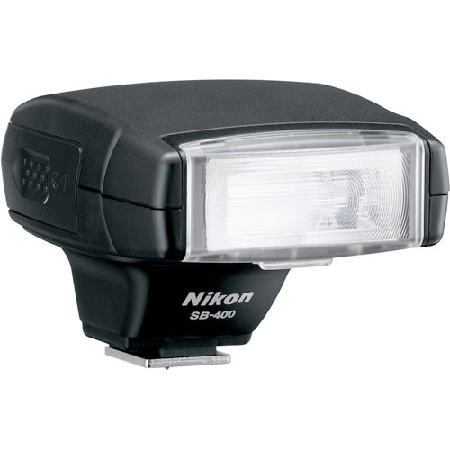 Nikon SB-400 Speedlight i-TTL Shoe Mount Flash