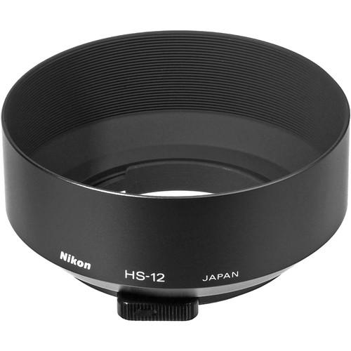 Nikon HS-12 Lens Hood (52mm Snap-On) for 50mm f/1.2