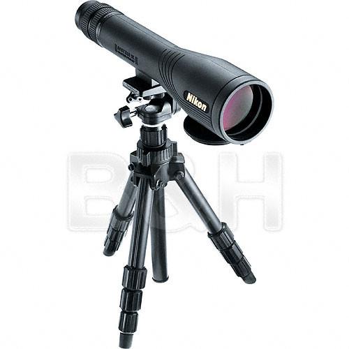 "Nikon Spotter XL II 2.4""/60mm Spotting Scope Outfit (Black)"