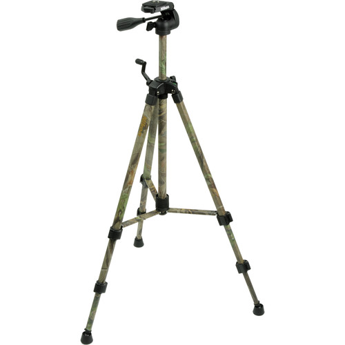 Nikon Full Size Tripod w/ Quick Release 3-Way Head (Camouflage)