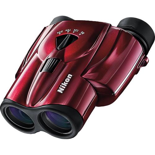 Nikon 8-24x25 Aculon T11 Zoom Binocular (Red)